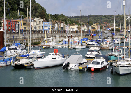 Dover marina Kent UK - Stock Photo
