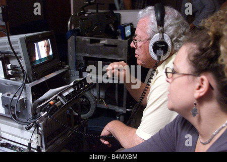 TV Programme The Bill July 2002 Behind the scenes at The Bill TV show - Stock Photo