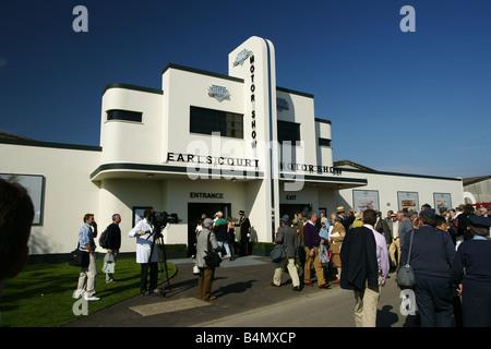 Earls Court Motor Show - Stock Photo