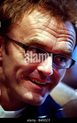 Danny Boyle Scots film director of 28 days later October 2002 - Stock Photo