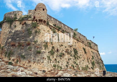 The Venetian Fortress or Fortezza in Rethymnon Crete Greece September 2008 - Stock Photo