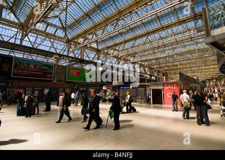 London Waterloo station London England UK - Stock Photo