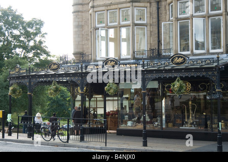 bettys tearoom traditional restaurant harrogate north yorkshire uk england famous afternoon tea rooms tearooms english - Stock Photo
