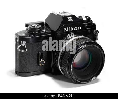 Nikon EM camera - Stock Photo