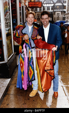 Darren Day Singer who takes over from Phillip Schofield in the leading role of Joseph and the Amazing Technicolor - Stock Photo