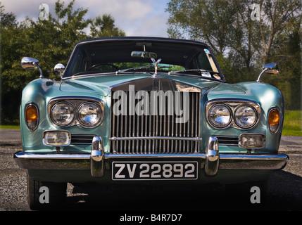 Rolls-Royce Corniche circa 1972 - Stock Photo