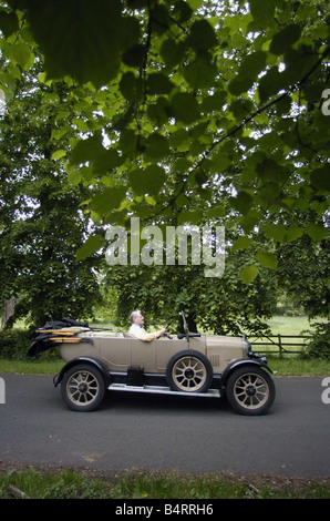 A 1924 Morris Cowley from the Worcestershire County Museum in Hartlebury - Stock Photo