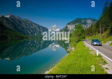 Austria, Tyrol, Plansee (Lake) - Stock Photo