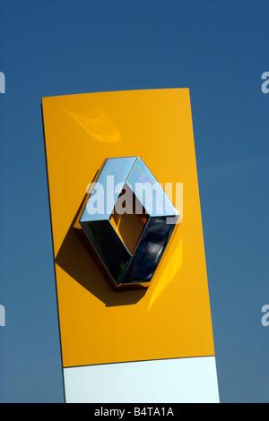 Renault Car Dealership Flags Logo Company French France Car Cars