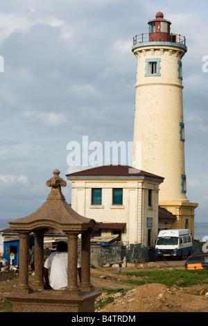 Jamestown lighthouse Jamestown Accra Ghana - Stock Photo