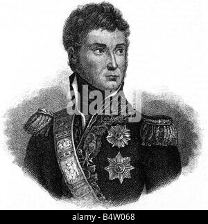 Lannes, Jean, 10.4.1769 - 31.5.1809, French General,  portrait, steel engraving by Carl Mayer, 19th century, , Artist's - Stock Photo