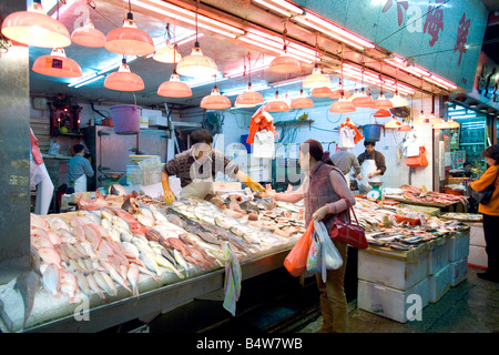 Ethnic people shopping seafood market on Canal Street Chinatown New Stock Photo: 11564542 - Alamy