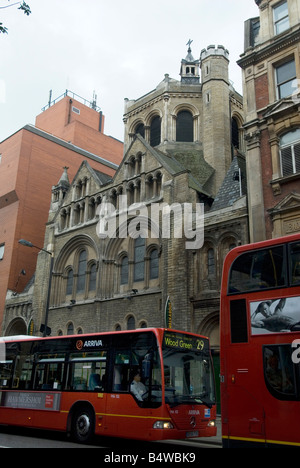 Walkabout pub Shaftesbury Avenue London located in an old church - Stock Photo