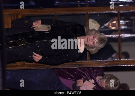 Camilla Parker Bowles at the 50th Birthday Nov 1998 of Prince Charles arriving at a mansion belonging to the family - Stock Photo