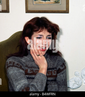 Kate Bush British pop singer December 1979 - Stock Photo
