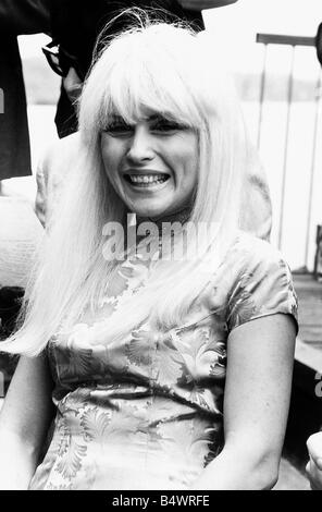 Debbie Harry Singer leader of the pop group Blondie - Stock Photo