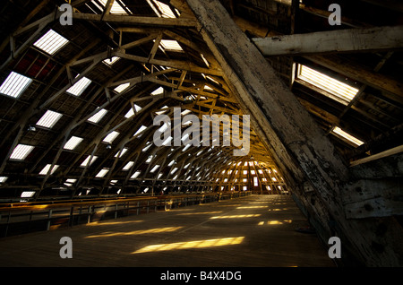 No 3 Slip Cover Chatham Historic Dockyard in Kent. - Stock Photo