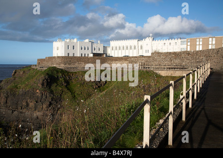 clifftop pathway past the dominican convent in portstewart county londonderry derry northern ireland uk also known - Stock Photo