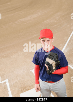 Baseball player in uniform - Stock Photo