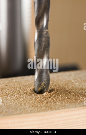 Close up of drill bit - Stock Photo