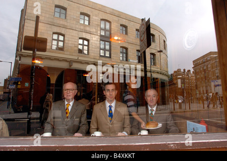 Gilbert & George meet Daily Mirror features writer Damien Fletcher. Breakfast 6.30 every day