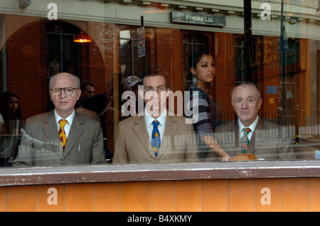 Gilbert & George meet Daily Mirror features writer Damien Fletcher.