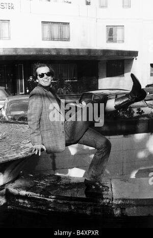 Jack Nicholson in London to promote his new film The one that flew over the cuckoos nest - Stock Photo