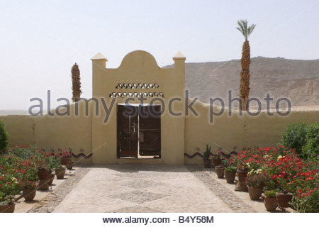 karima,nubian rest-house,nubia,sudan,north africa - Stock Photo