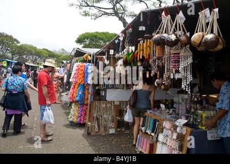 Aloha Stadium Swap Meet Honolulu Oahu Hawaii - Stock Photo