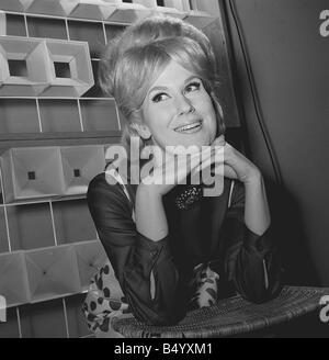 Dusty Springfield singer February 1963 - Stock Photo