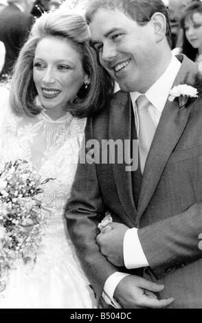 Lena Zavaroni Pop Singer after her wedding to Peter wiltshire msi - Stock Photo