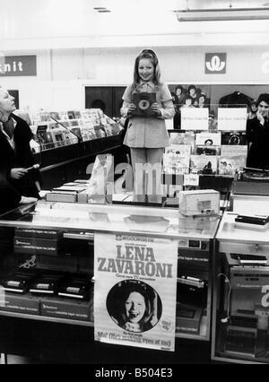 Lena Zavaroni Pop Singer msi - Stock Photo