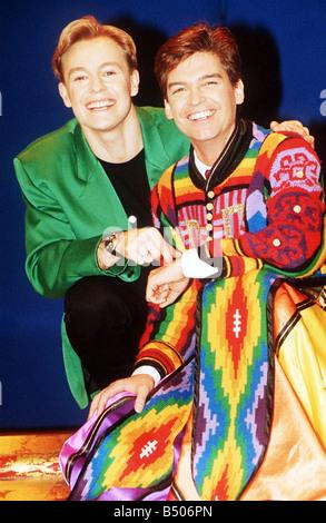 Television presenter Phillip Schofield takes over from Jason Donovan in Joseph and the Amazing Technicolour Dreamcoat - Stock Photo