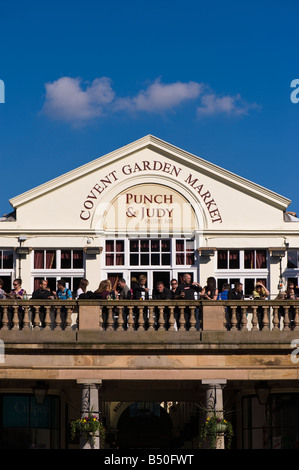 Punch and Judy Pub in Covent Garden London United Kingdom - Stock Photo