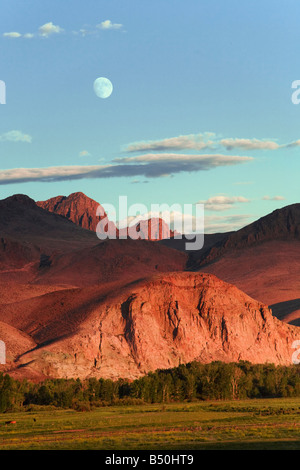 Lost River Mountains - Stock Photo