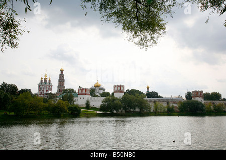 Sep 2008 - Novodevichy monastery Moscow Russia - Stock Photo