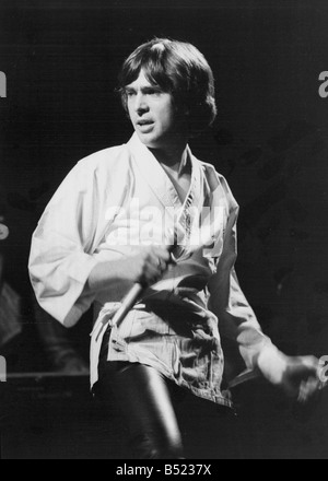 Peter Gabriel in concert during his smash hit European tour The one time lead singer with supergroup Genesis is - Stock Photo