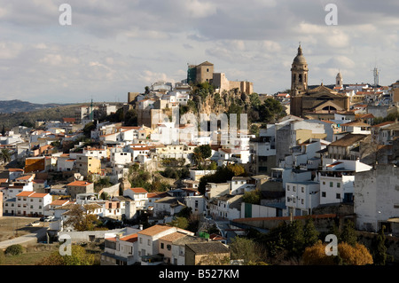 Spain, Andalucia. The historical center of Loja - Stock Photo