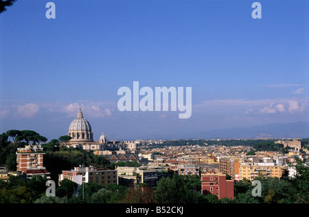 italy, rome city, st peter's basilica - Stock Photo