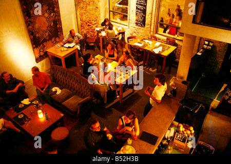 March 2008 - Bar 6 a cafe and bar in the trendy area of Palermo Viejo known as Soho Buenos Aires Argentina