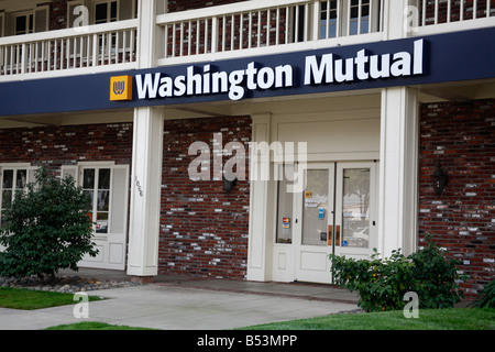 Washington Mutual Bank in San Jose California USA - Stock Photo
