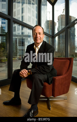 Randy Talbot, CEO of Symetra Financial, at the company's headquarters in Bellevue, Washington. - Stock Photo