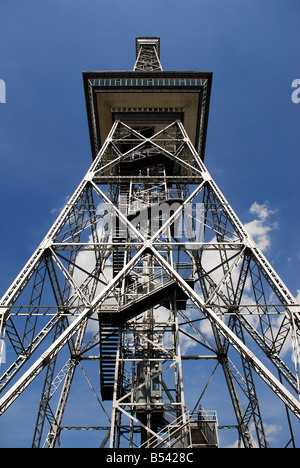 Berlin,Funkturm, tower, germany, berlin, eu, radio, signal, rbb, Germany - Stock Photo
