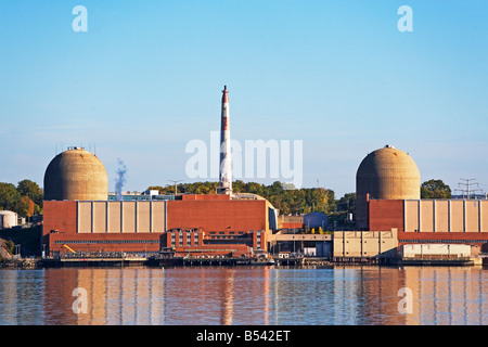 nuclear plant, energy, stoney point, rockland county, new york state, electricity, expensive, cheap, dangerous - Stock Photo