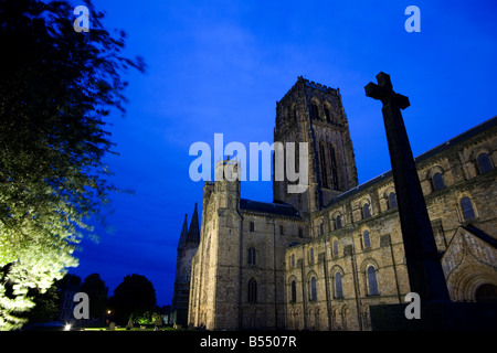 Durham Cathedral in northeast England. - Stock Photo