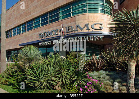 SONY BMG Music Entertainment Santa Monica CA California - Stock Photo