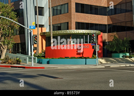 MTV Networks Company division of media conglomerate Viacom TV network and Internet brands, MTV channel building - Stock Photo