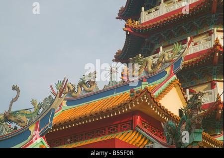 The Facade Of Tua Pek Kong A Chinese Taoist Temple In Miri