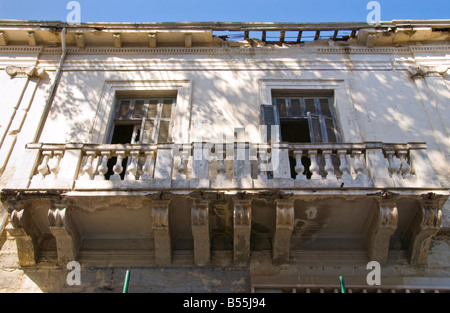 Traditional turkish cypriot building and derelict house for Balcony nicosia