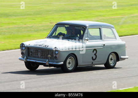 1959 Austin A40 Racing at the Goodwood Revival - Stock Photo